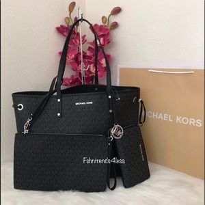 ✨💯🆕Michael Kors Large Drawstring Tote & Wallet✨